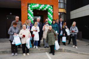 В Домодедово началась выдача ключей от квартир