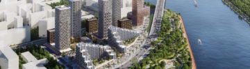 Группа «Эталон» сможет открыть продажи квартир в «доме-лайнере» на юге Москвы