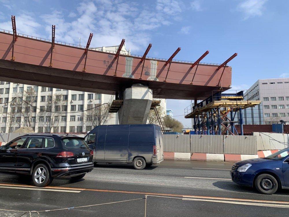 Дублер Калужского шоссе откроют в 2022 году