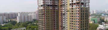 Пайщикам ЖСК «Ваниль»: в доме на Каширском с опережением графика завершается установка оконных блоков