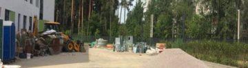 Строительство школы на 550 мест в Ликино-Дулево завершится в августе