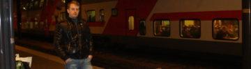 На Московском центральном кольце запустили двухэтажный поезд