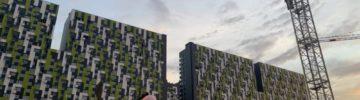 Многоэтажный жилой корпус в Новой Москве подключен к инженерным сетям