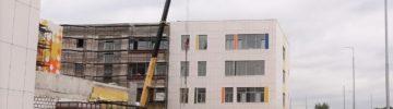 Строительная готовность школы в Павловском Посаде составляет 60%