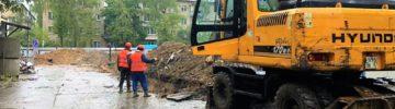 В Реутове продолжается строительство пристройки к городской поликлинике