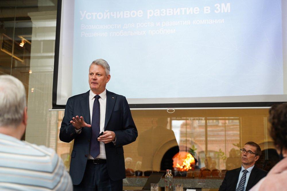 Компания 3М отмечает 30-летний юбилей работы в России